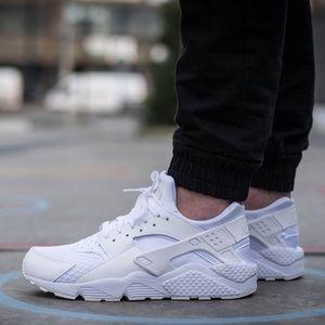 Nike Huarache Run Whiteout White Platinum Sneaker